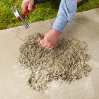 QUIKRETE® - Repairing Concrete Steps