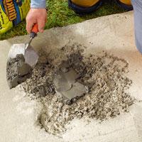 Quikrete Repairing Concrete Steps