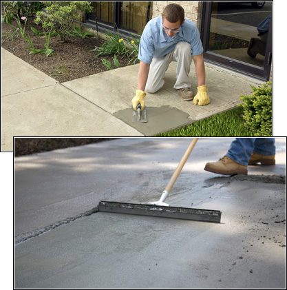 Quikrete Improve Your Home S Curb Appeal With Spring Concrete Repairs