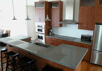 Quikrete mezcla para cubiertas prefabricadas for How durable are concrete countertops