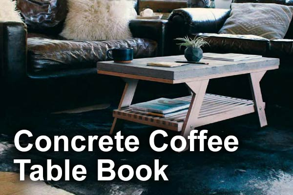 QUIKRETE Concrete Coffee Table Book
