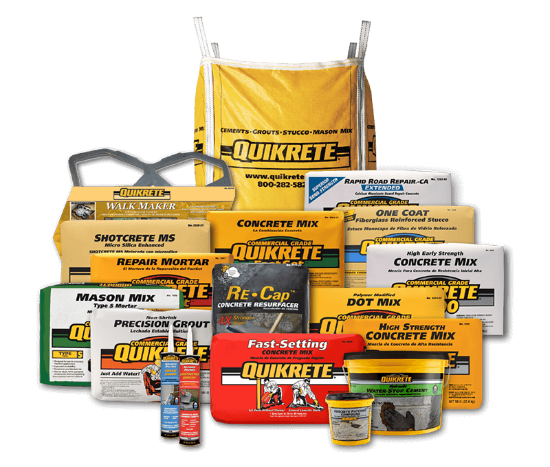 Largest Manufacturer Of Packaged Concrete Quikrete