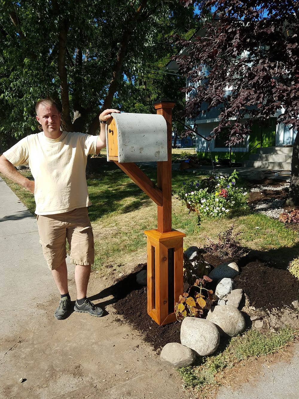 Concrete Mailbox - One Bag Wonder Contest Entries