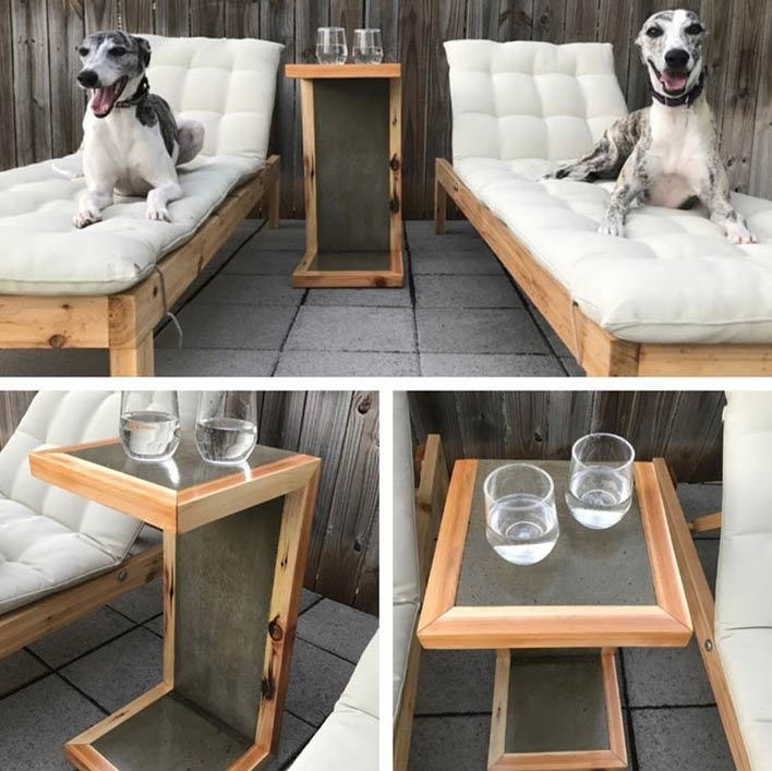 Waterfall Pool Deck Table - One Bag Wonder Contest Entries