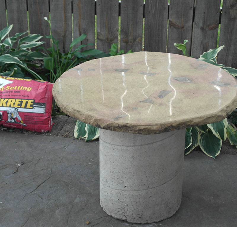 Pedestal Table - One Bag Wonder Contest Entries