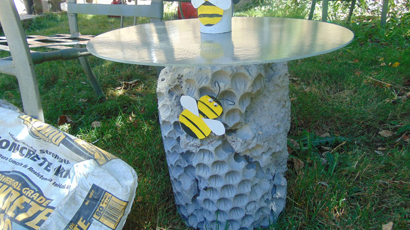 Honey Comb End Table - One Bag Wonder Contest Entries