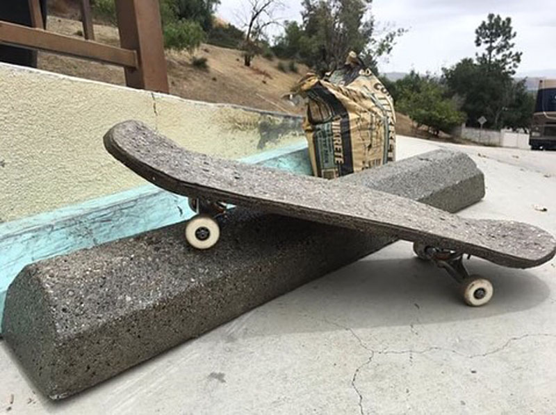 Concrete Skateboard - One Bag Wonder Contest Entries