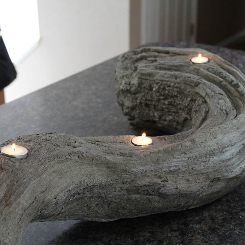 Driftwood Candle Holder - One Bag Wonder Contest Entries