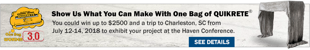 QUIKRETE's One Bag Wonder 3.0