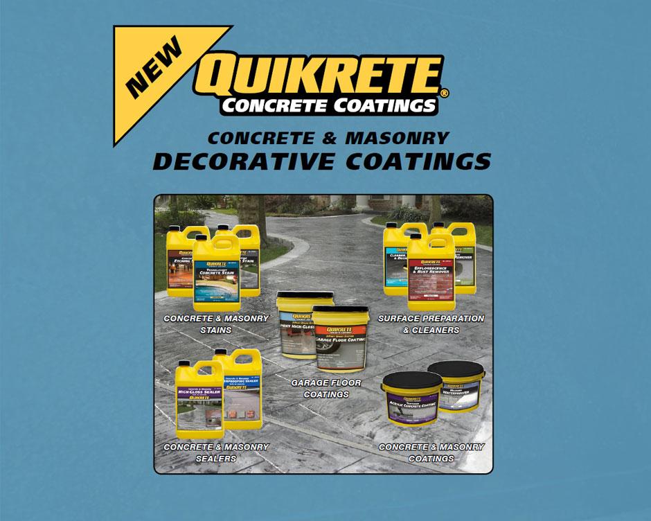 Concrete Coatings Quikrete Cement
