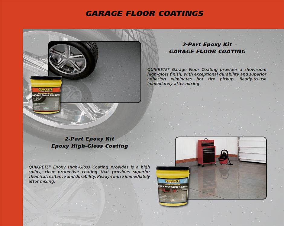 Quikrete Clear Garage Floor Coating Carpet Vidalondon