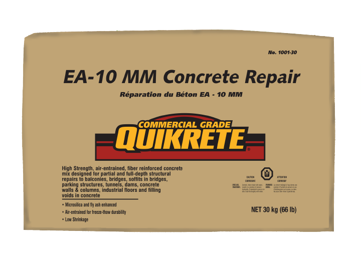 QUIKRETE® EA Mix Concrete Repair | QUIKRETE: Cement and