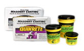 At home quikrete cement and concrete products for Quikrete exterior stucco patch