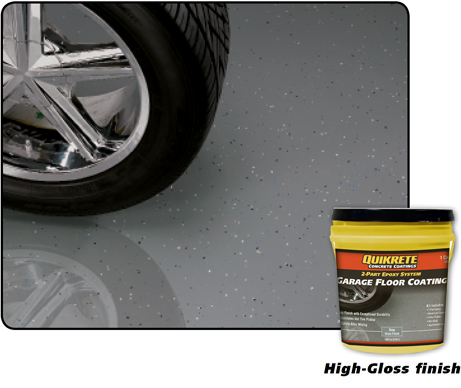 Garage Floor Coating Quikrete Cement And Concrete Products