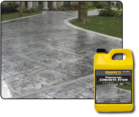 Penetrating Concrete Stains Quikrete Cement And