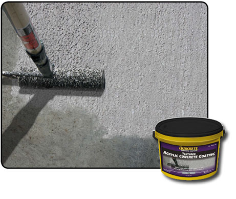 Textured Acrylic Concrete Coating
