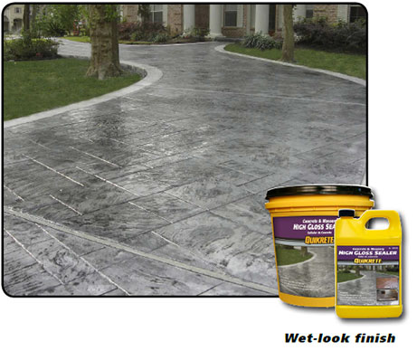 Concrete & Masonry Gloss Sealer