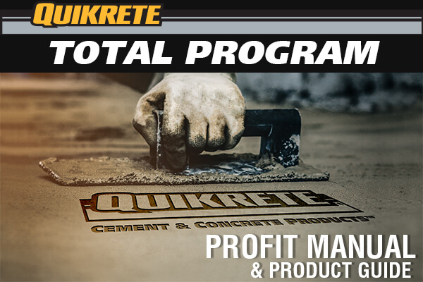 Largest Manufacturer of Packaged Concrete   QUIKRETE: Cement and ...