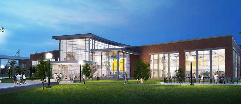 Project Profile: University of Michigan Athletics South Competition & Performance Center