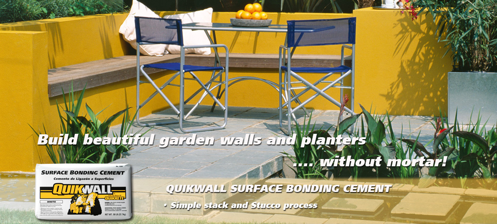 Quikrete - QUIKWALL® Surface Bonding Cement