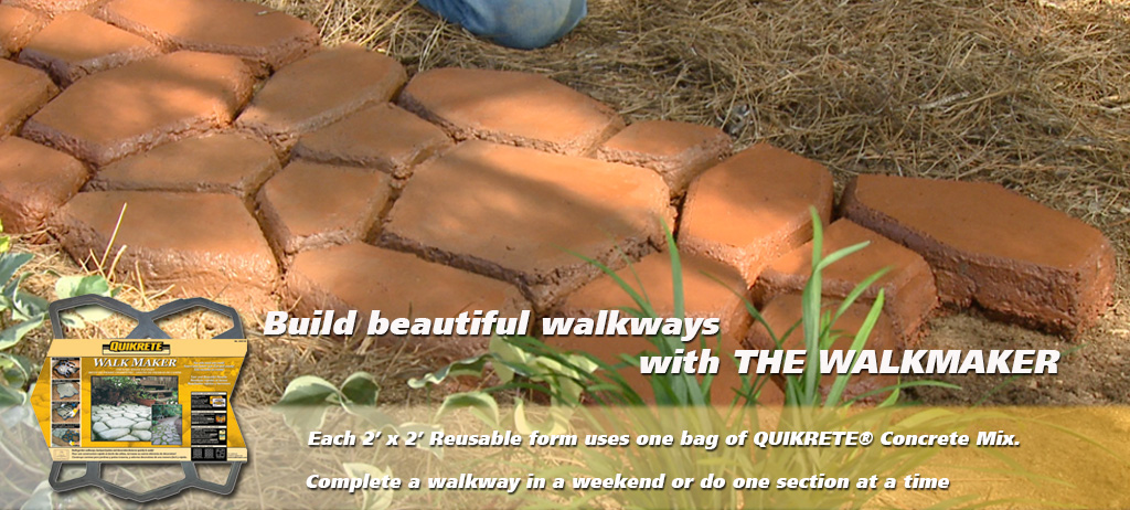 Quikrete - WalkMaker® - Country Stone Pattern