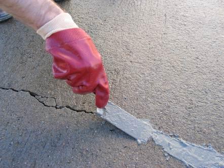 Vertical Concrete Repair Epoxy Concrete Crack Repair