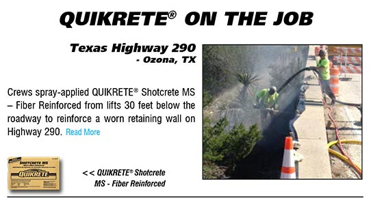 QUIKRETE On The Job