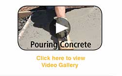 How-To Video Gallery - Pouring Concrete