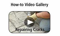 How-To Video Gallery - Repairing Cracks