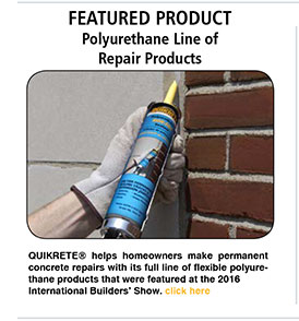 Featured Product - Polyurethane Line of Repair Products