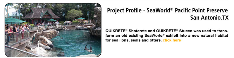 Project Profile - Sea World - Pacific Point Preserve - San Antonio, TX
