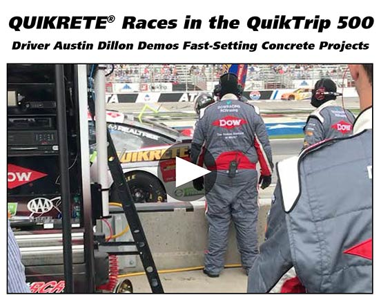 QUIKRETE Races in the QuikTrip 500