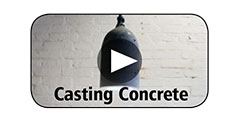 How-To Video Gallery - Casting Concrete